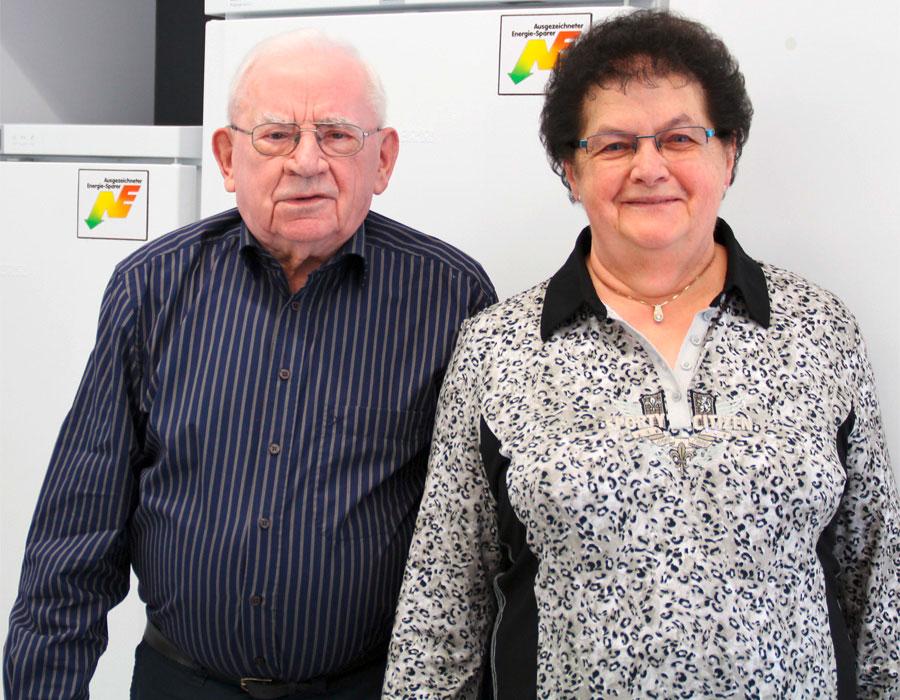 v.l.: Albert und Anna Giger