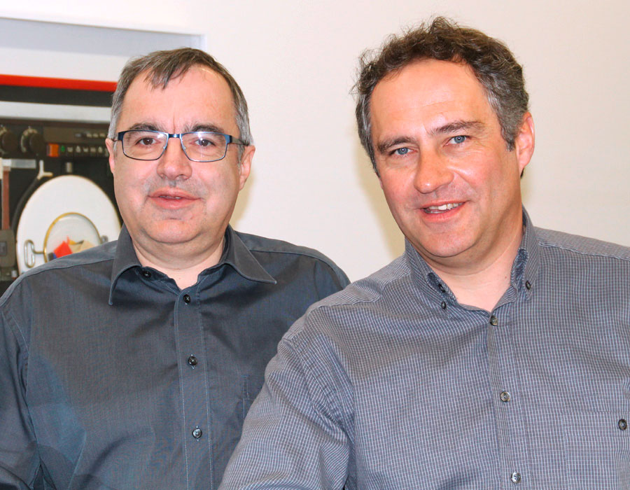 v.l.: Geschäftsinhaber: Pius Giger / Geschäftsinhaber: Stefan Giger